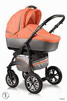 Детская коляска универсальная 2 в 1 Ammi Ajax Group Glory Peach