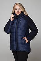 М-557 Куртка женская синий, 62