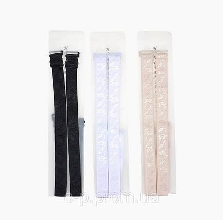 Бретели батал тканевые (LV29) | 10 пар, фото 2