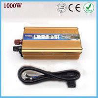 Преобразователь 1000W (чистая синусойда), преобразователь постоянного тока!Акция