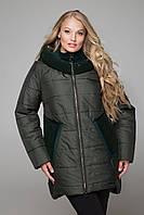 М-598 Куртка зимняя пайетка
