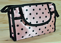 Косметичка розовая  размер 18,5Х12Х5
