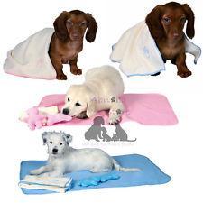 Trixie TX-15587 Набор для щенка коврик+полотенце+2 игрушки (розовый)