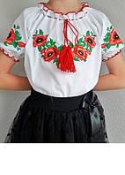 Вышиванка для девочки в школу
