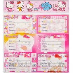 """Наклейки для тетрадей """"Hello Kitty"""""""