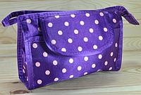 Косметичка фиолетовая  размер 18,5Х12Х5