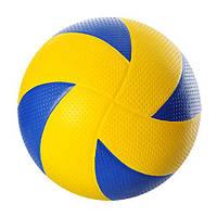 М'яч волейбольний VA 0033 офіц. розмір, гума, 300-320 г.