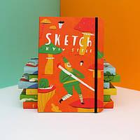 Яркий скетчбук от Kyiv Style - для художественных каляк-маляк!