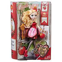 Кукла Mattel Ever After High Эппл Вайт базовая первый выпуск (Ever After High Apple White Doll)