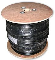 Витая пара (сетевой кабель) экранированный наружный с тросом FTP VECTOR (0.515CCA) 305 м.