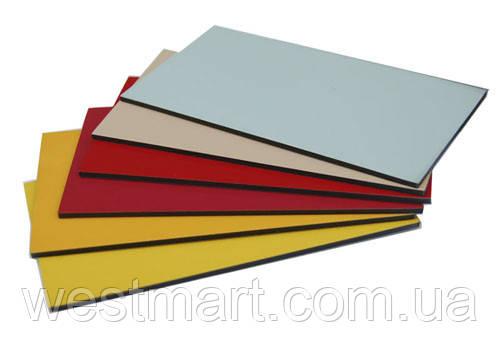 Алюминиевые композитные панели ECOBOND Limited серебро 3мм