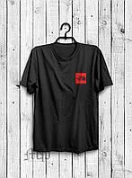 Футболка The North Face (Зе Норт Фейс), маленький логотип
