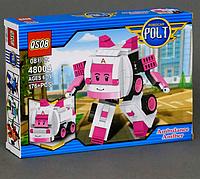 Робокар Поли конструктор, трансформер 2 в 1.