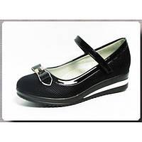 Туфли школьные на платформе для девочки р.32-37 ТМ W.NICO