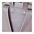 Большой женский кожаный рюкзак Carbon , фото 8
