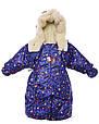 Детский комбинезон трансформер зимний (синий Энгри Бердз), фото 3
