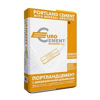 Цемент ПЦ 2/Б-Ш марка 400 «Евроцемент» (50 кг) заводская упаковка