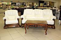 Комплект кожаной мебели, фото 1