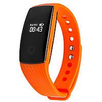 Фитнес трекер VeryFit ID107HR с датчиком сердцебиения для iPhone и Android оранжевый