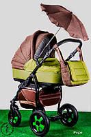 Детская коляска универсальная 2 в 1 Ammi Ajax Group Вritish Pepe
