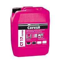 Грунтовка бесцветная Церезит СТ 17 Супер (Ceresit CT 17 Super) 10 л (под покраску)