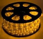 Светодиодный Дюралайт Желтый 2-х жильный, фото 1