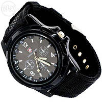 Мужские часы Swiss Army (Черный)