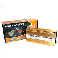 Преобразователь постоянного тока Power Inventer 500W (чистая синусойда)!Акция