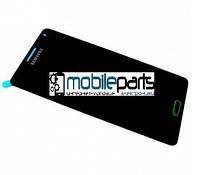 Оригинальный Дисплей (Модуль) + Сенсор (Тачскрин) для Samsung SM-A500H Galaxy A5 service (Черный)