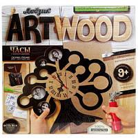 """Набір креативної творчості """"ARTWOOD настінний годинник"""" випилювання лобзиком, LBZ-01-01, 02, 03, 04,"""
