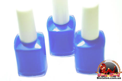"Клей-краска для Био-тату ""Синий"""