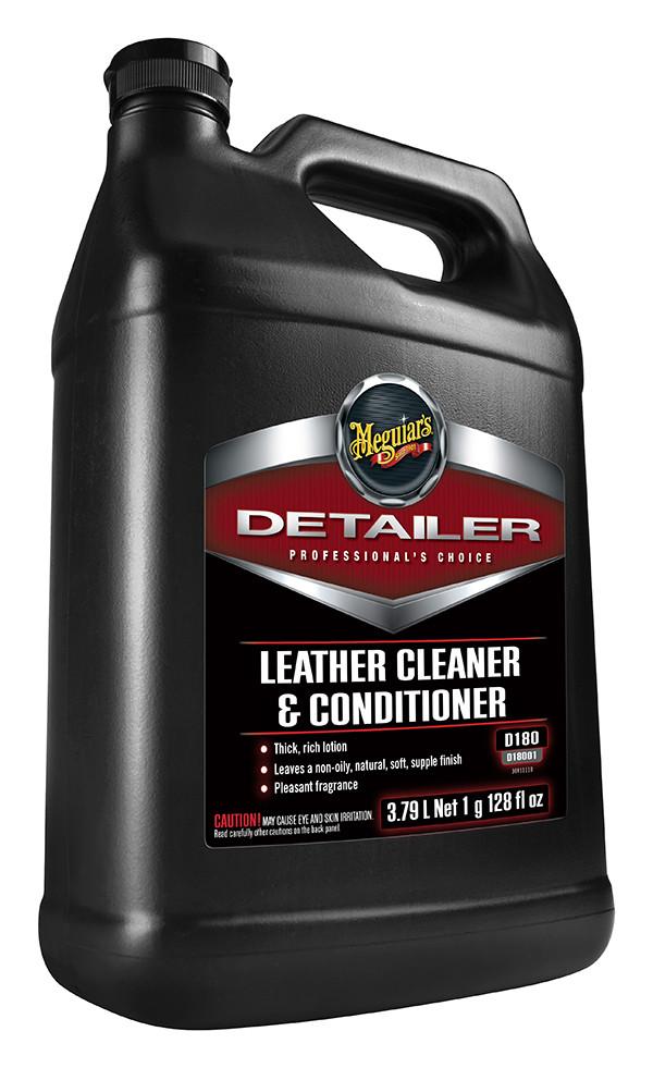 Очиститель и кондиционер для кожи - Meguiar's Detailer Leather Cleaner and Conditioner 3,78 л. (D18001)