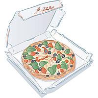 Коробка для пиццы Ø 30 см.