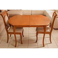 Стол деревянный раскладной Аликанте дуб AL-T4EX3