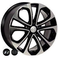 Автомобильный диск, литой Zorat Wheels 7688 R17 W7.5 PCD5x114,3 ET50 DIA67.1 BP