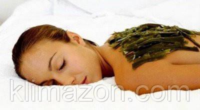 Маска для тела из морской капусты.