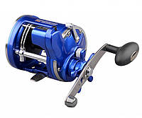Катушка мультипликаторная Spro Offshore Pro 4300 Blue RH 570gr 4.0:1 3+1 420/0,40  счетчик
