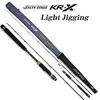 Удилище спиннинговое Abu Garcia Salty Stage KR-X Light Jigging SXLS-632-150-KR 1.91m. 1+1 12