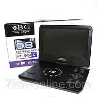 Портативный DVD-плеер 119 (9 дюймов), двд проигрыватель в автомобиль!Опт