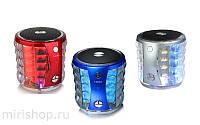 Музыкальная Bluetooth колонка со светомузыкой T-2096A Portable Mini Wireless Speaker!Акция