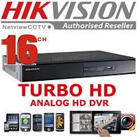 Видеорегистратор Hikvision 16-канальный Turbo HD  DS-7216HGHI-SH
