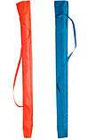 Зонт пляжный с чехлом, 2,2 м, для отдыха на природе (металлические спицы, цвета в асс.) HZT /N-31, фото 3