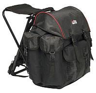 Рюкзак со стулом Abu Garcia RUCKSACK LARGE 56x40x46cm 30 Litres Black/red