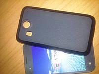 Чехол накладка Lenovo A789 P700 бампер панель черная