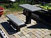 Скамейки на кладбище