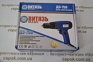 Шуруповерт мережевий Витязь ДЕ-750