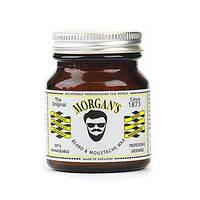 Воск для усов и бороды Morgans beard and moustache wax 50g