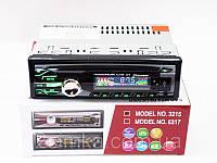Магнитола автомобильная 3215 USB + RGB подсветка + Fm + Aux + пульт (4x50W)!Акция