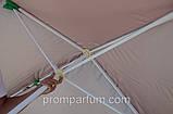 Зонт квадратный без клап. (2,2x2,2 м) для торговли, отдыха на природе (4 метал. спицы, цвета в асс.) HZT /N-22, фото 2