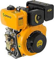 Двигатель Sadko DE-300 (шпонка, вал 25мм)